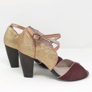 Farylrobin Anthropologie heels size 7